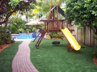 artificial turf for playground