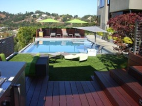 artificial grass for patios