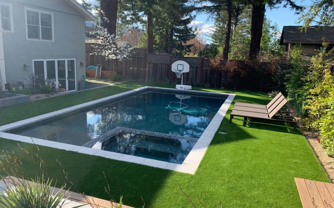 3 Cool Reasons to Install Artificial Grass for Stockton Pool Surrounds