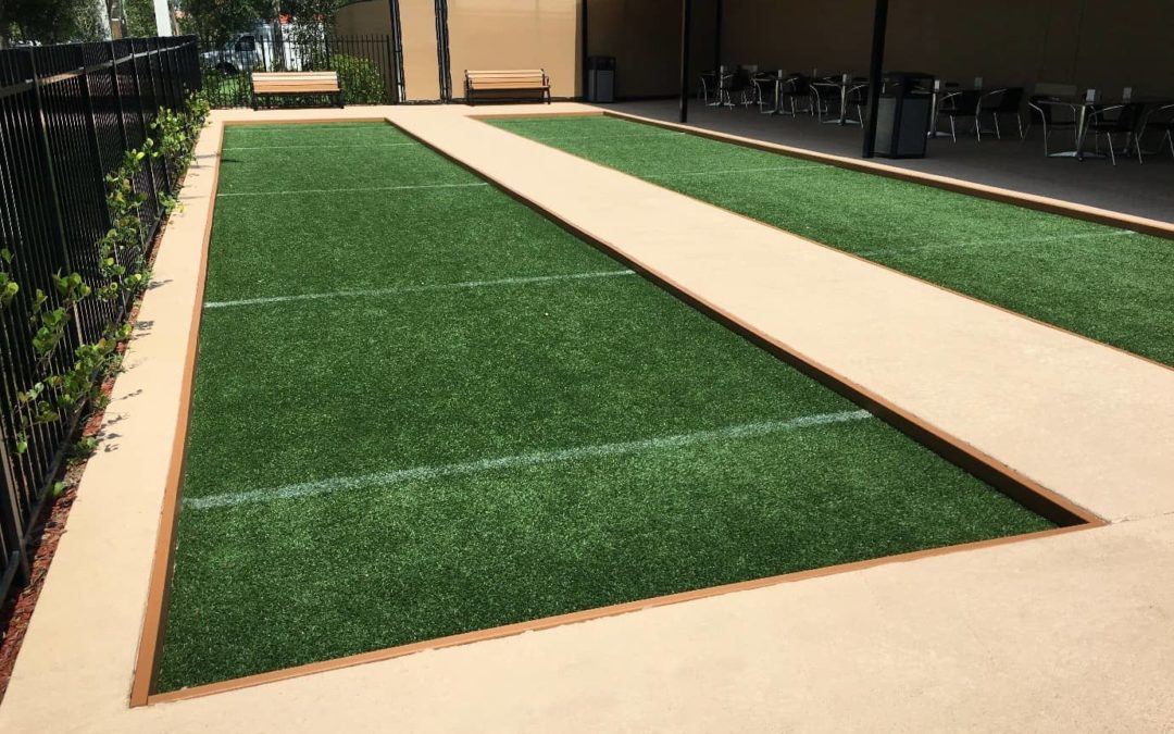 Highlighting Hardscape with Artificial Grass in Stockton