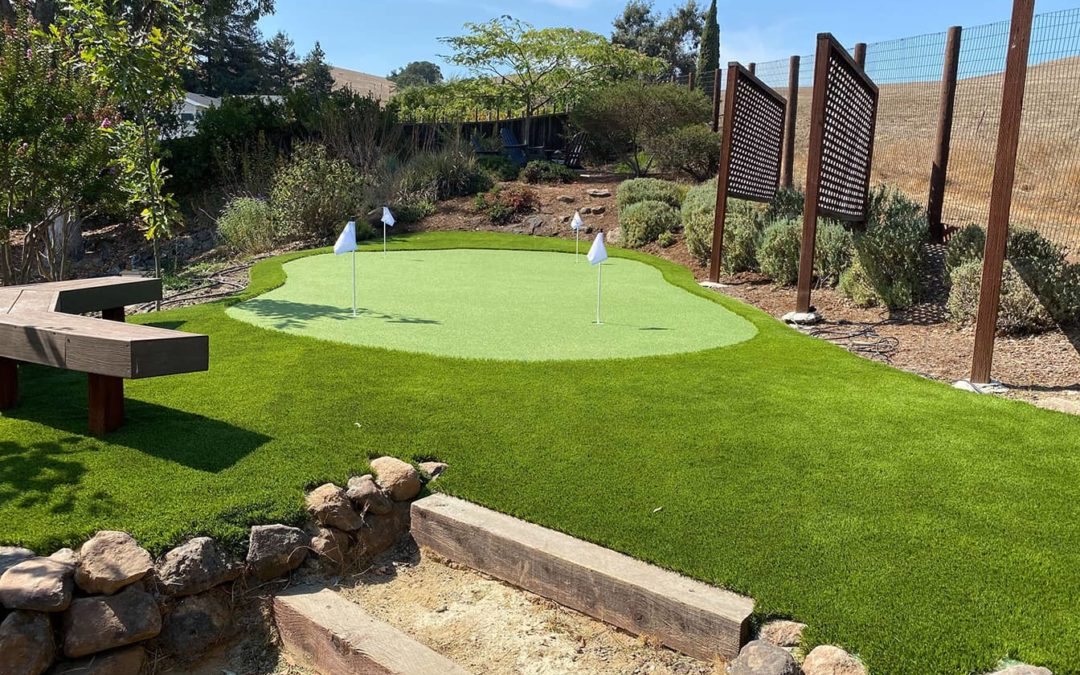 More Than Golf: Top 6 Benefits of Backyard Putting Greens in Stockton